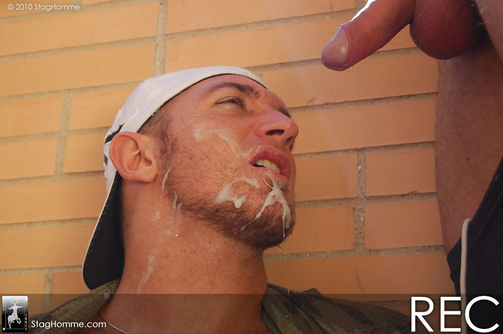 Just fucking outdoor gay xxx plus he gets 2